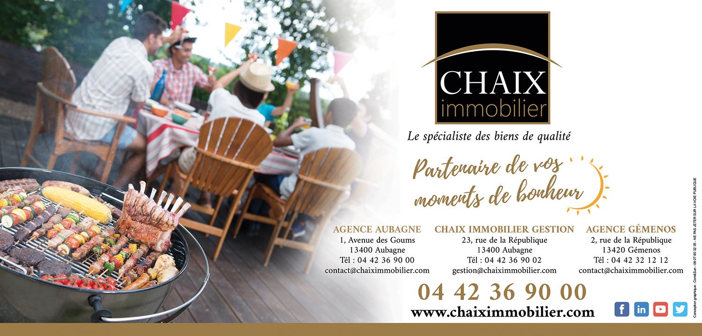 Chaix immobilier : Partenaire de vos moments de bonheur !!